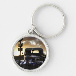 Alter Chevy LKW Keychain/Schlüsselring Schlüsselanhänger
