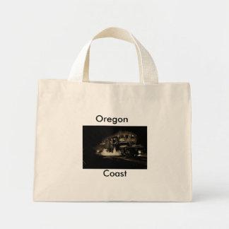 Alter Dampfzug entlang der Oregon-Küste - Mini Stoffbeutel