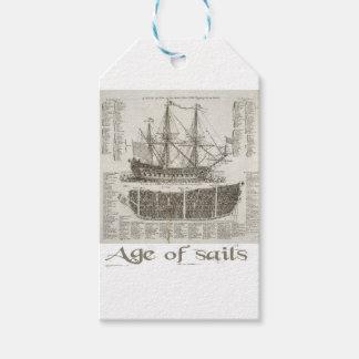 Alter der Segel Geschenkanhänger