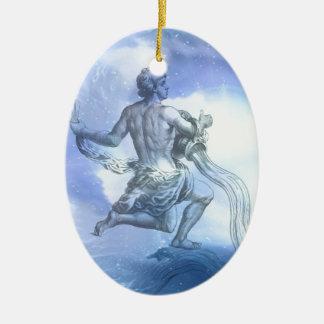 Alter des Wassermann-Tierkreises Keramik Ornament