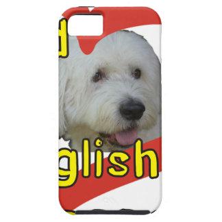 Alter englischer Schäferhund iPhone 5 Cover