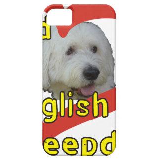 Alter englischer Schäferhund iPhone 5 Hülle