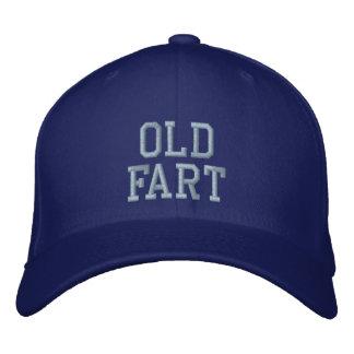 Alter Furz-Baseball-Hut Bestickte Caps