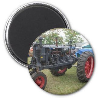 Alter Gas-Motor-Traktor Kühlschrankmagnet