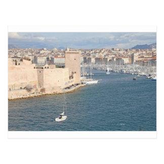 Alter Hafen von Marseille Postkarte