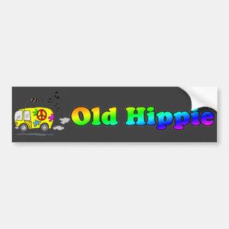 Alter Hippie-Bus-Autoaufkleber Autoaufkleber