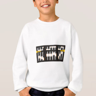 Alter hölzerner Abakus Sweatshirt