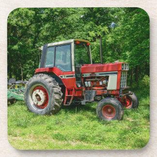 Alter internationaler Traktor Untersetzer