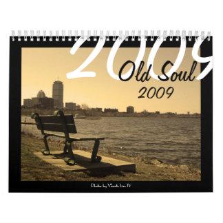 Alter Kalender des Soul-2009 (abwechselnde