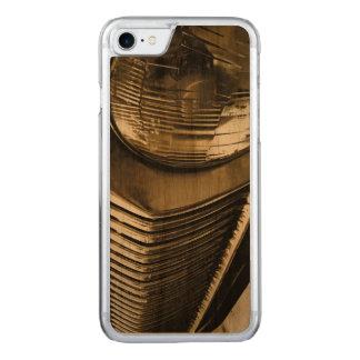 Alter klassischer Auto-Scheinwerfer Carved iPhone 8/7 Hülle