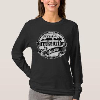 Alter Kreis Breckenridges Schwarz-weiß T-Shirt