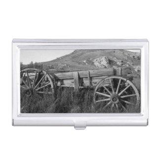 Alter Lastwagen Parks USA, Montana, Bannack Staat Visitenkarten Etui
