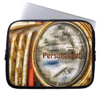 Alter LKW-Entwurf Laptop Sleeve