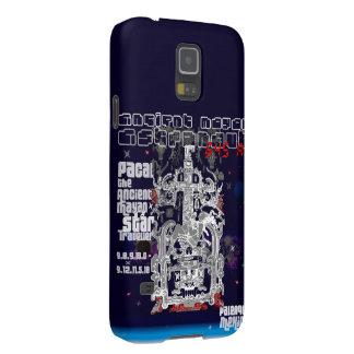 Alter Mayaraum-Reisend-Astronaut Palenque Samsung Galaxy S5 Hülle