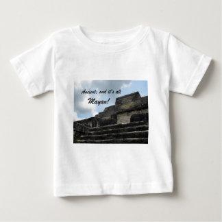 Alter MayaSonnengott-Tempel Baby T-shirt
