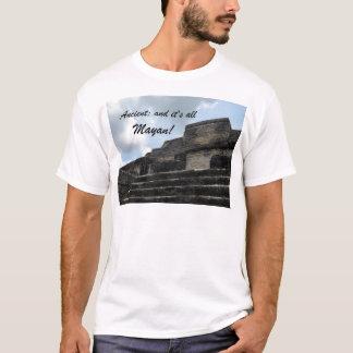 Alter MayaSonnengott-Tempel T-Shirt