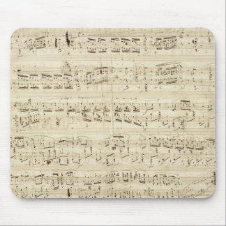 Alter Musiknoten - Chopin-Musik-Blatt Mousepad