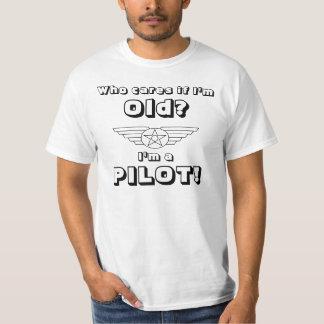 Alter Pilot, wer sich interessiert? T-Shirt