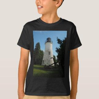 Alter Presque Insel-Leuchtturm T-Shirt