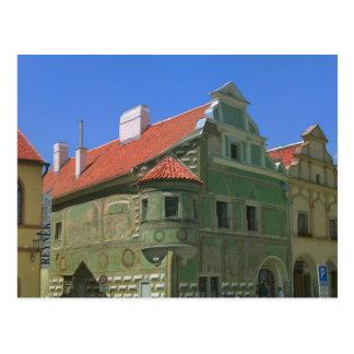 Alter Rathausplatz umgeben bis zum 16. Jahrhundert Postkarte
