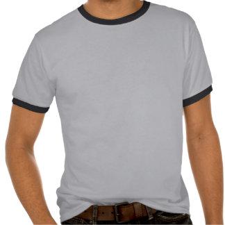 Alter Rocker-Typ-Vinylaufzeichnungs-T - Shirt