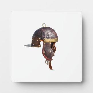 Alter römischer Militärsturzhelm Fotoplatte