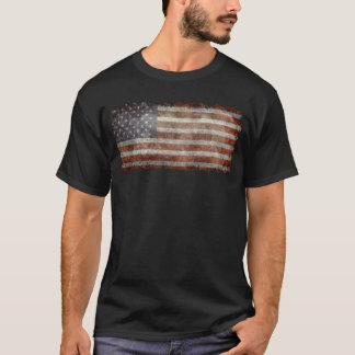 Alter Ruhm - die amerikanische Flagge T-Shirt