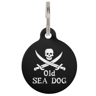 Alter Seehundehaustier-Umbau Tiernamensmarke