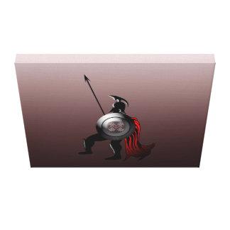 Alter spartanischer Krieger Leinwanddruck