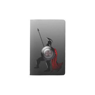 Alter spartanischer Krieger Moleskine Taschennotizbuch