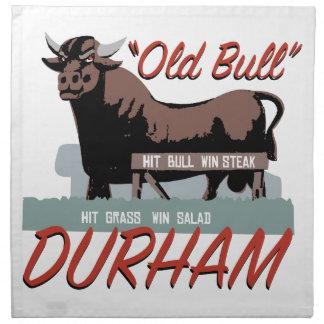 Alter Stier Durham Stoffserviette