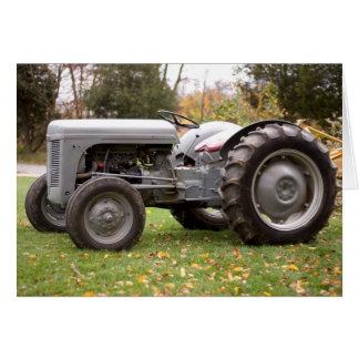 Alter Traktor im Fall Karte