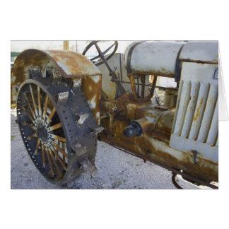 Alter Traktor Karte