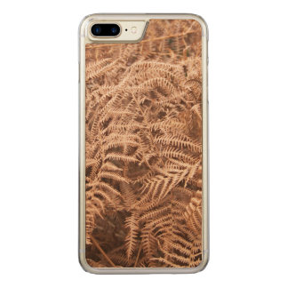 Alter trockener gelbes Brown-Farn - Carved iPhone 8 Plus/7 Plus Hülle