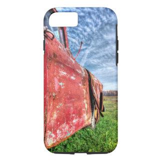 Alter verlassener roter Chevy LKW iPhone 8/7 Hülle
