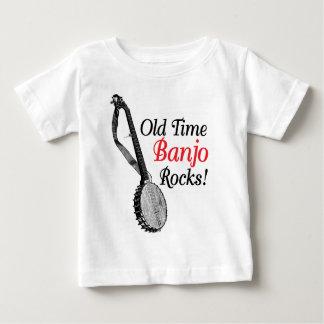 Alter Zeit-Banjo-Säuglings-T - Shirt