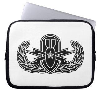 Ältere EOD-Schablone Laptopschutzhülle