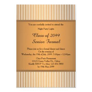 Ältere formale Klasse 2099, Goldbronze des Karte
