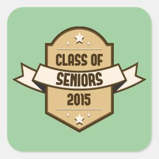 Ältere Klasse von Aufkleber 2015
