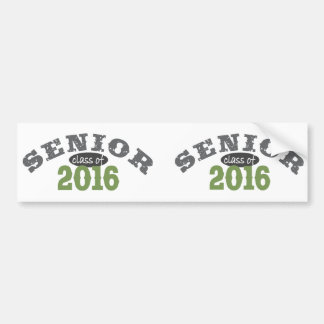 Ältere Klasse von Grün 2016 Autoaufkleber