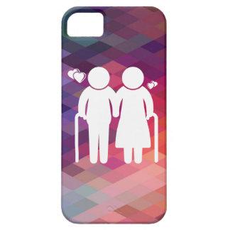 Ältere Liebhaber minimal iPhone 5 Schutzhüllen