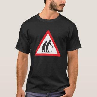 Ältere Menschen T-Shirt