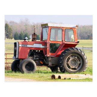 Ältere untätige Traktor-Postkarte Postkarte