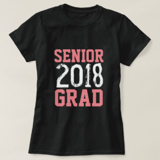 Älterer Absolvent-Jersey-T - Shirt 2018