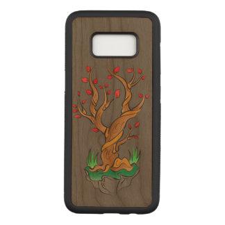 Älterer Baum/neues Wachstum Carved Samsung Galaxy S8 Hülle