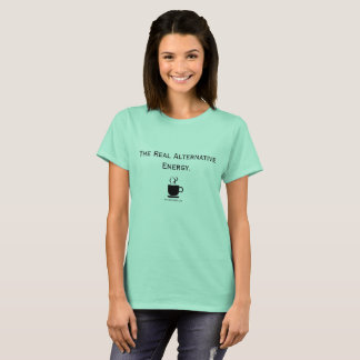 Alternative Energie-Kaffee-Liebhaber-T-Shirt T-Shirt
