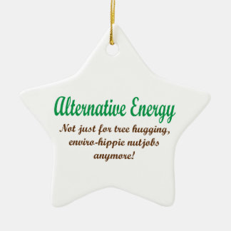Alternative Energie Keramik Ornament