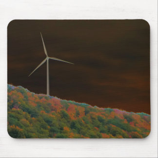 Alternative Energie-Windkraftanlage-Fall Mousepad