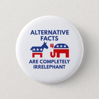 Alternative Tatsachen Runder Button 5,7 Cm