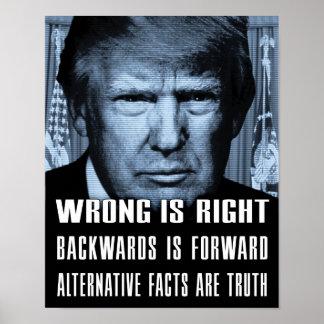 Alternative Tatsachen sind Wahrheit - Poster